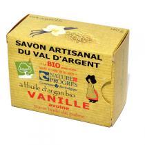 Argasol - Savon bio Vanille Avoine 140gr