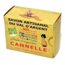 Argasol - Savon bio Cannelle 140gr
