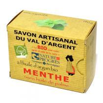 Argasol - Savon bio Menthe 140gr