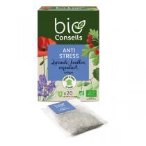 Bio Conseils - Infusion Anti Stress Bio 20 sachets