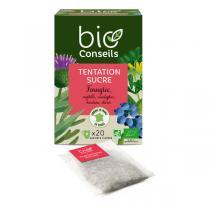 Bio Conseils - Infusion Tentation sucre Bio 20 sachets