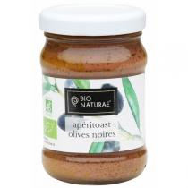 Bionaturae - Apéritoasts olives noires 90gr