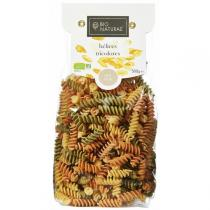 Bionaturae - Pâtes italiennes Hélices tricolores 500gr