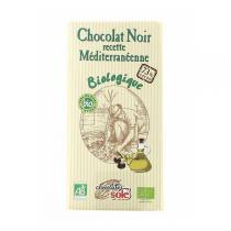 Chocolates Solé - Chocolat noir méditerranéen 73% BIO - 100g