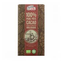 Chocolates Solé - Pâte 100% cacao BIO - 100g