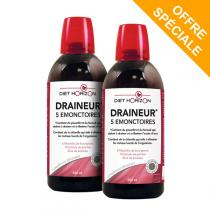 Diet Horizon - Draineur 5 Emonctoires Lot de 2 - 2 x 500mL