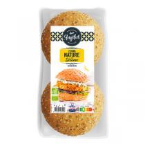 L'Angélus - Buns bio pour burgers - 2 x 75g