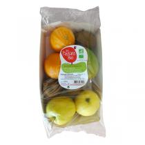 Les Paysans Bio - Mélange de Fruits Bio - Barquette d'1kg