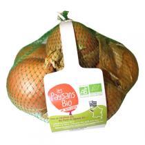 Les Paysans Bio - Oignons jaunes Bio Filet 1kg