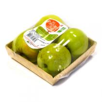 Les Paysans Bio - Pomme Verte Granny Smith 115-135 g France 4 fruits