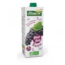 Vitamont - Pur jus de Raisin Bio Tetra Pak 1L