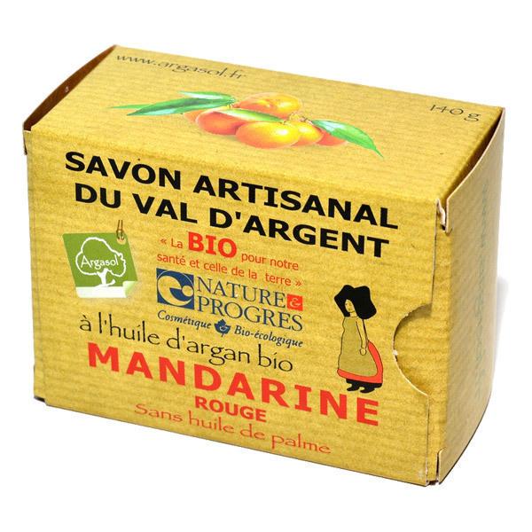 Argasol - Savon bio Mandarine rouge 140gr