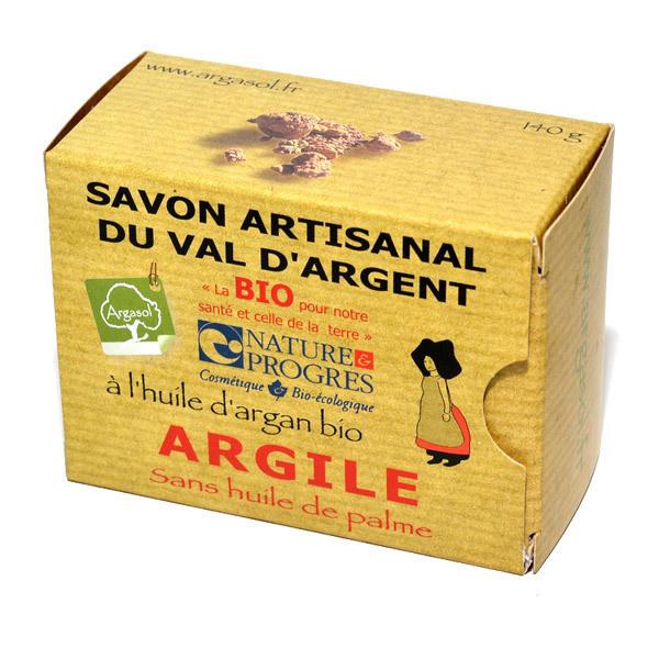 Argasol - Savon bio Argile 140gr