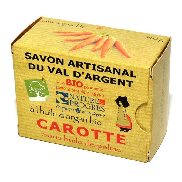 Argasol - Savon bio carotte 140gr