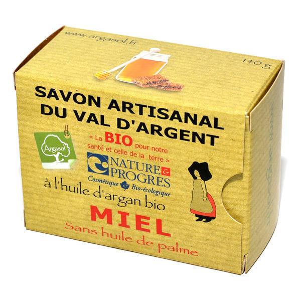 Argasol - Savon bio Miel 140gr