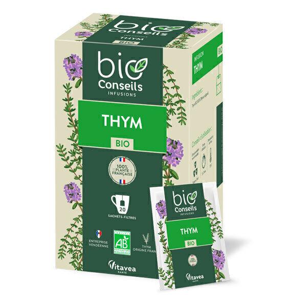 Bio Conseils - Infusion de Thym Bio 20 sachets