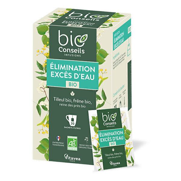 Bio Conseils - Infusion Excès d'eau Élimination Bio 20 sachets
