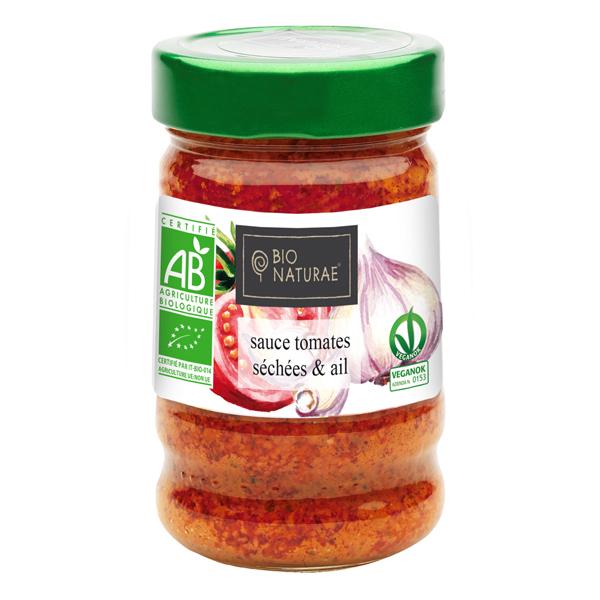 Bio Naturae - Sauce tomates séchées à l'ail 190g