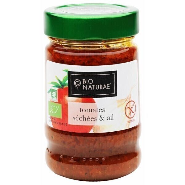 Bio Naturae - Sauce tomates séchées à l'ail 190gr