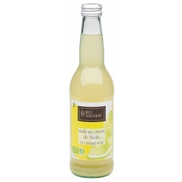 Bio Naturae - Soda citron et citron vert 355ml