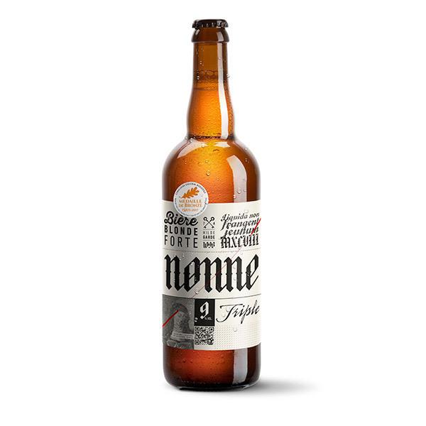 Brasseurs Savoyards - Bière Nonne Triple Bio 75cl