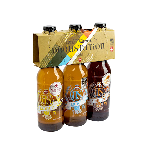 Brasseurs Savoyards - Pack Dégustation Bières Bio 3x33cl