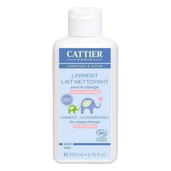 Cattier - Liniment - Lait Nettoyant pour le change - 200 ml
