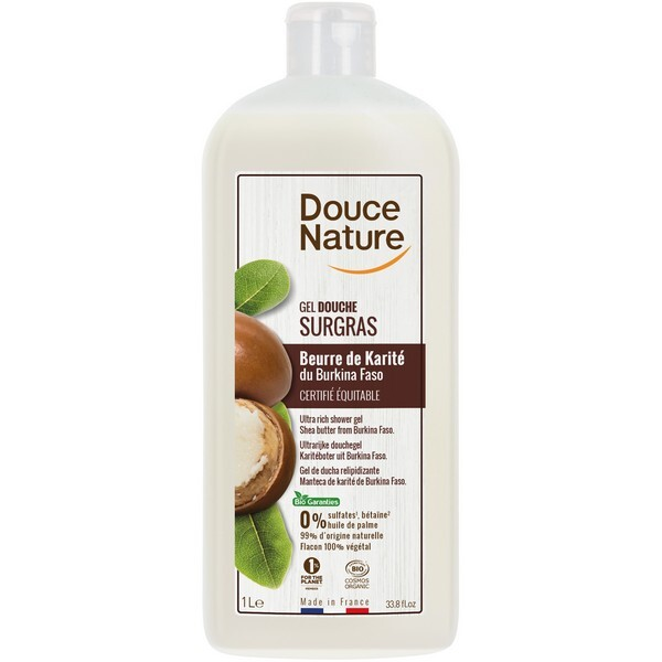 Douce Nature - Crème douche surgras karité 1L