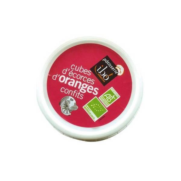 Ibo! - Cubes d'écorces d'oranges confits 150g