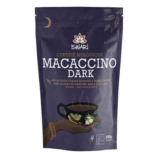 Iswari - Macaccino Dark Bio - 250g