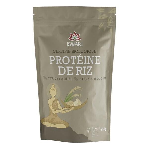 Iswari - Protéine de riz Bio - 250g