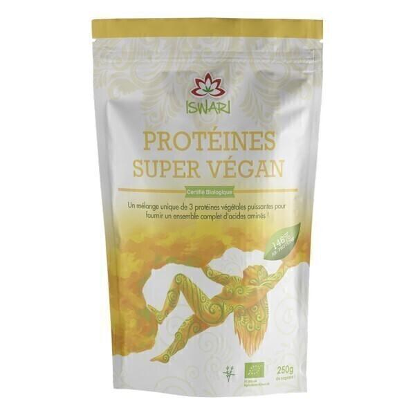 Iswari - Protéine Super Vegan Bio - 250g