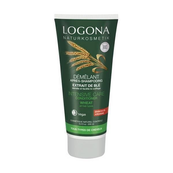 Logona - Après-shampooing aux extraits de blé 200 ml