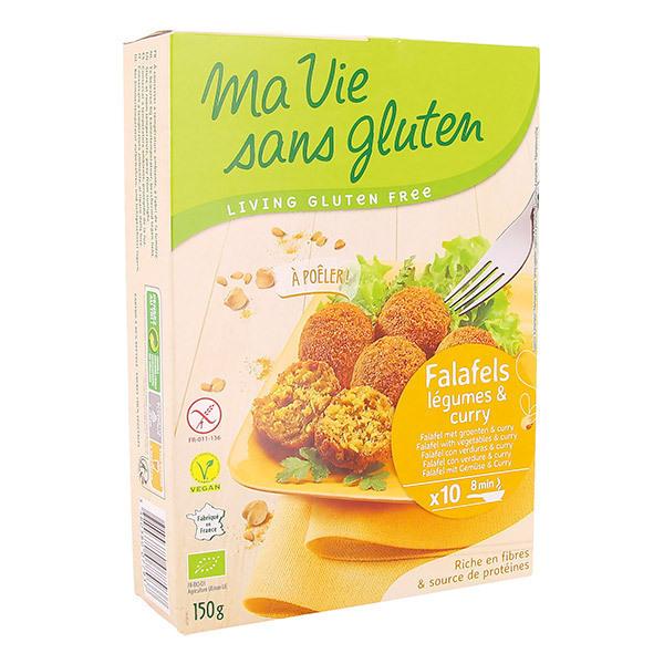 Ma Vie Sans Gluten - Falafels légumes et curry 150g