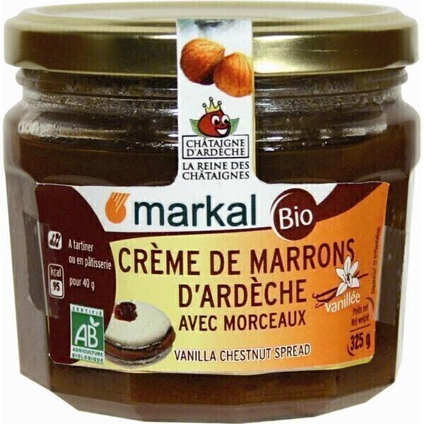 Markal - Crème de marrons Vanille morceaux 325gr