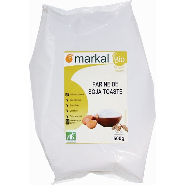 Markal - Farine de soja toasté France 500g