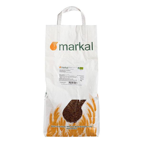 Markal - Graines de lin brun 3kg
