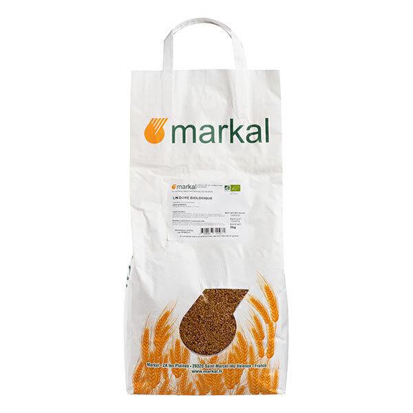 Markal - Graines de lin doré 3kg