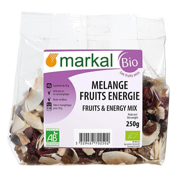 Markal - Mélange fruits énergie 250gr