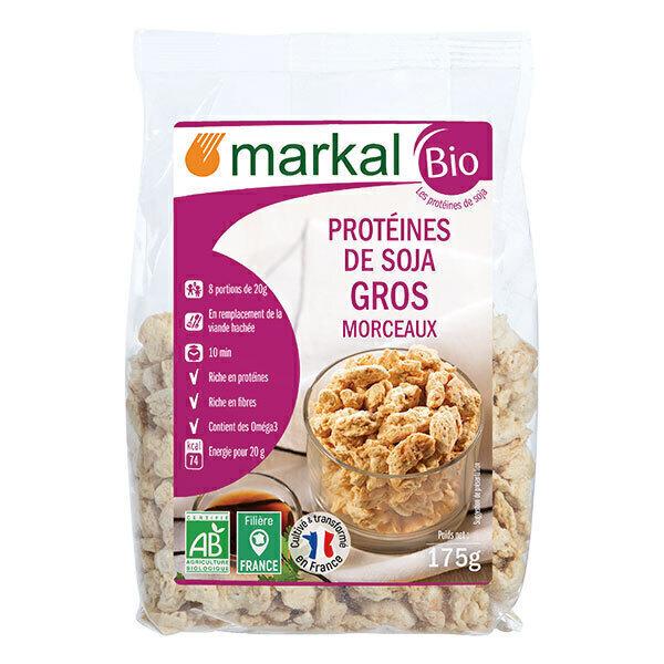 Markal - Protéines soja gros 175g