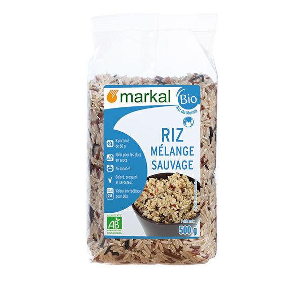 Markal - Riz mélange sauvage 500g