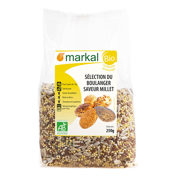 Markal - Sélection du boulanger millet 250g