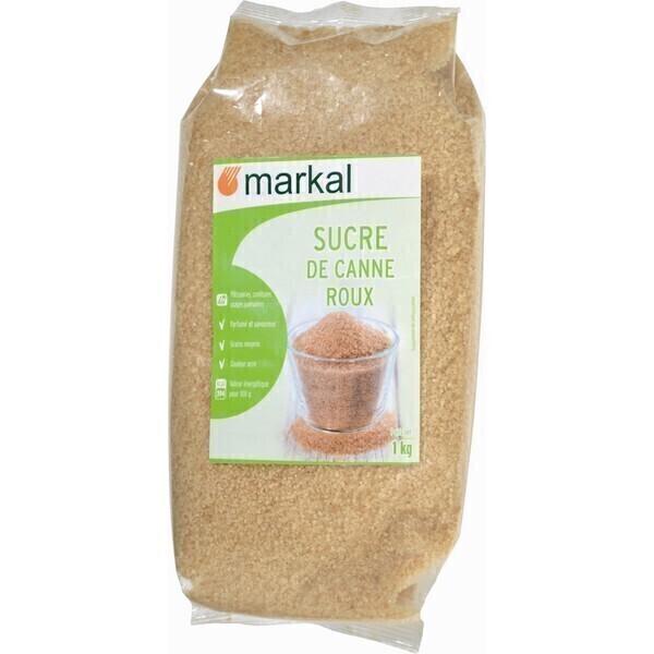 Markal - Sucre roux canne cristal 1kg