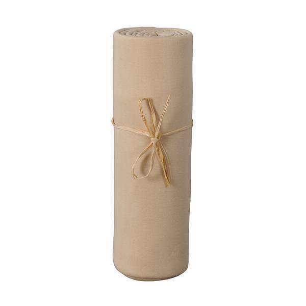 Ptit Basile - Drap Housse Jersey 60x120 cm - Cappuccino