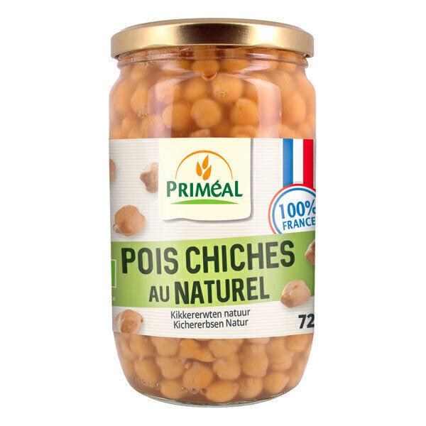 Priméal - Pois chiches au naturel 720ml