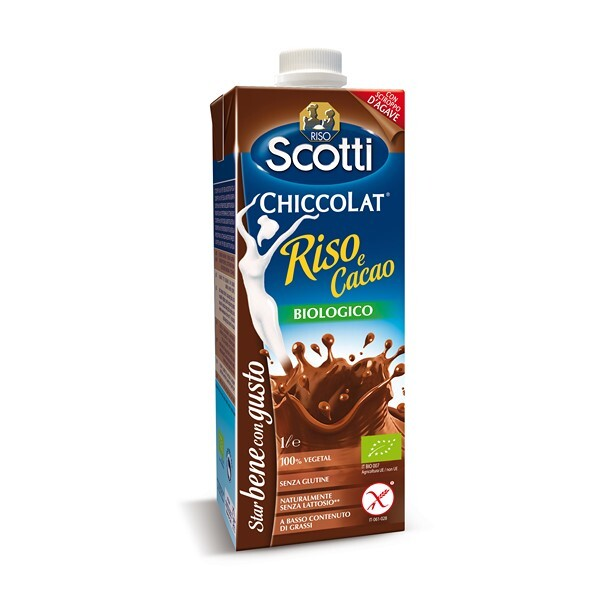 Riso Scotti - Boisson Riz saveur Chocolat 1L