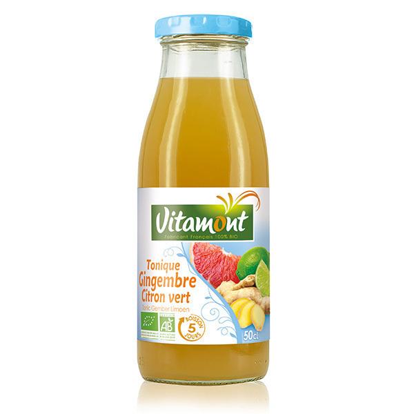 Vitamont - Jus tonique Gingembre Citron vert 50cl