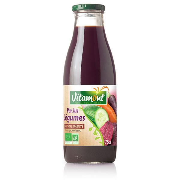 Vitamont - Pur jus de Légumes Lactofermenté 75cl