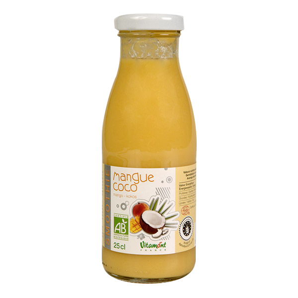 Vitamont - Smoothie Mangue Coco 25cl