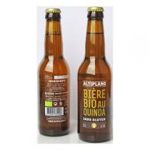 Altiplano - Bière BIO au Quinoa sans gluten - 33cl